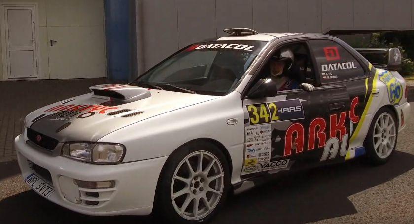 Auto-moto, Szybcy Płocka jeżdżą Subaru Arkadiusz Mistrzem Kierownicy Włocławku - zdjęcie, fotografia