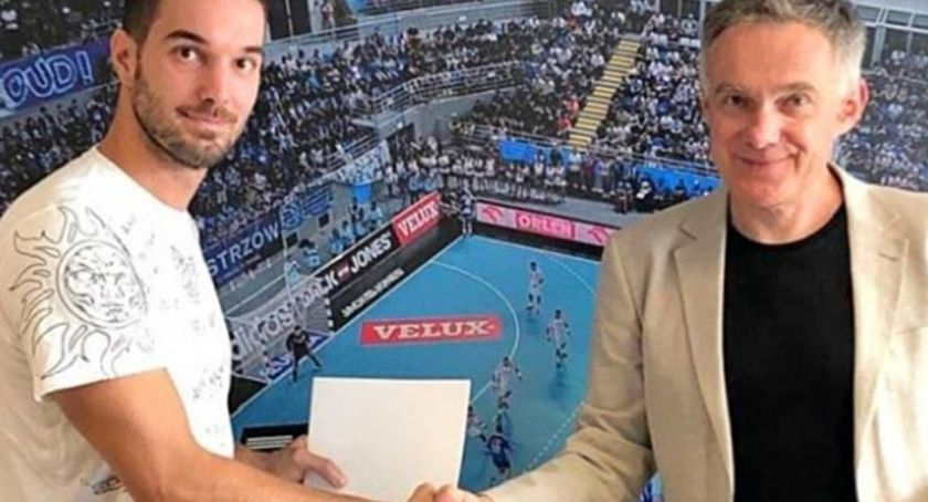 Piłka ręczna, Jerko Matulić nowym skrzydłowym Orlen Wisły Płock - zdjęcie, fotografia