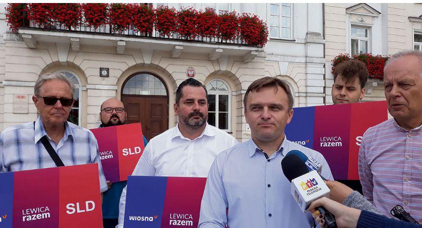 Partie polityczne, Lewica Wiosna Razem gotowe startu wyborach - zdjęcie, fotografia