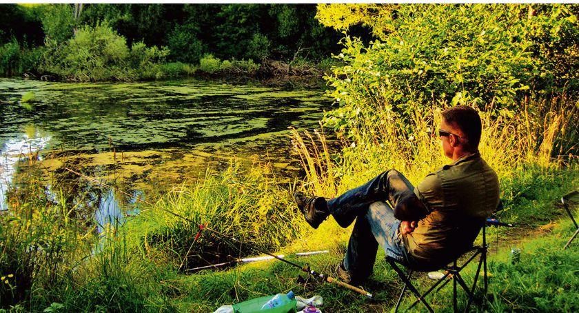Wędkarstwo, karasiach łowieniu - zdjęcie, fotografia