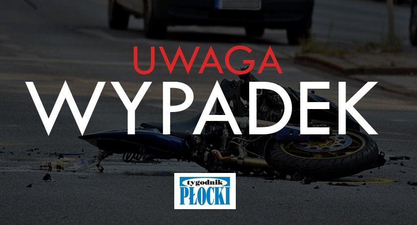 Wypadki drogowe, Tragiczny wypadek Popłacinie żyją osoby - zdjęcie, fotografia