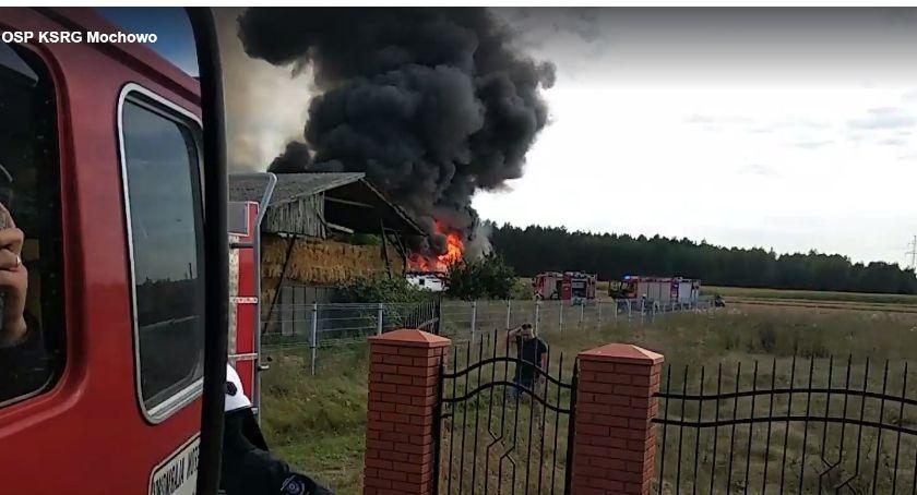 Kronika kryminalna , Pożar kurnika środku było kurcząt - zdjęcie, fotografia