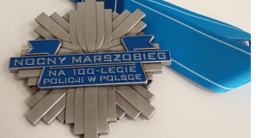 Wokół Nas, Nocny Marszobieg okazji lecia polskiej policji Zgłoszenia tylko września - zdjęcie, fotografia