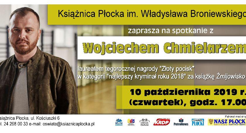 """Spotkania i wywiady, Autor """"Żmijowiska"""" Książnicy Płockiej - zdjęcie, fotografia"""
