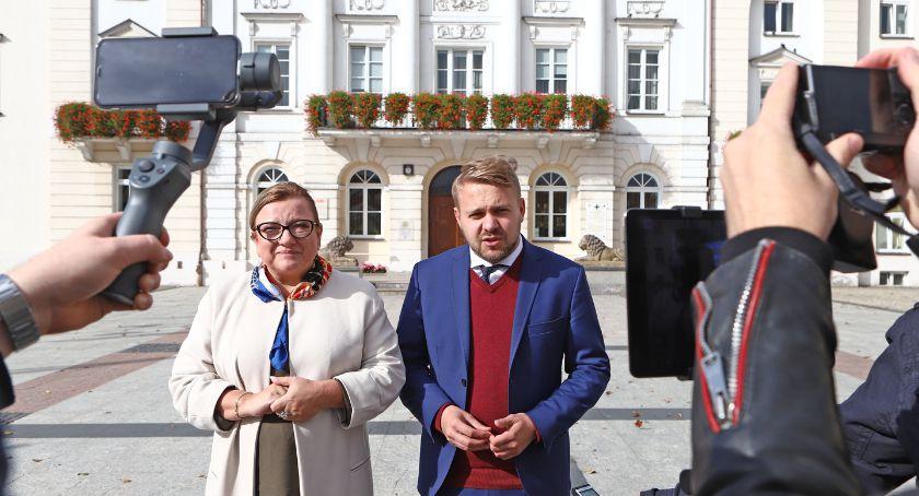 Wybory, Jacek Ozdoba podsumował swoją kampanię - zdjęcie, fotografia