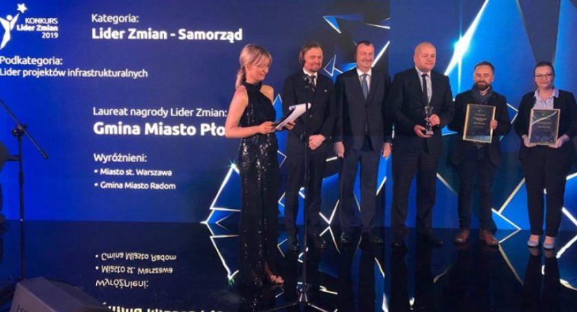 Warto wiedzieć, Płock liderem zmian Miasto otrzymało nagrodę - zdjęcie, fotografia