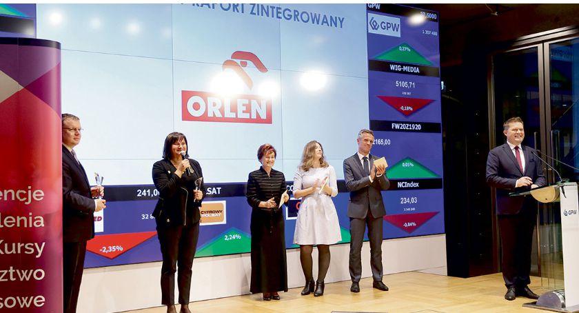 Orlen, Raport zintegrowany ORLEN - zdjęcie, fotografia