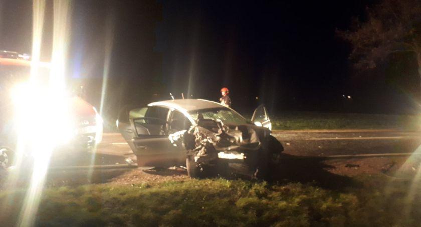 Wypadek w Ciachcinie. Zdjęcia z wypadku w Ciachcinie.