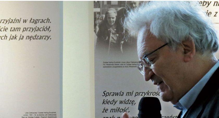 Książnica Płocka przypomniała Gustawa Herlinga-Grudzińskiego