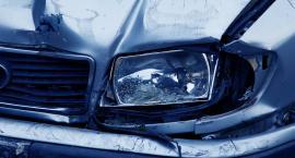 Wypadek w Gąbinie. Jedna osoba w szpitalu