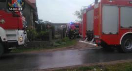 Pożar kotłowni w Studzieńcu