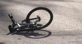 Wypadek w Brudzeniu Dużym. Ranny 16-letni rowerzysta