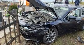 Zderzenie samochodów w Ciachcinie. Sprawca stracił prawo jazdy