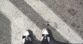 Wypadek w Umieninie. Ranny pieszy