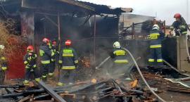 Pożar w Słubicach