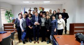 Delegacja z Ukrainy w Słupnie