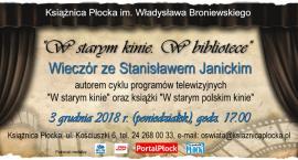 Stanisław Janicki w Książnicy Płockiej