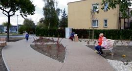 Skwer u zbiegu ulic Kochanowskiego i Wschodniej gotowy