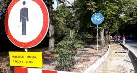 Kolejne drogi rowerowe w Płocku Na Broniewskiego i Mostowej