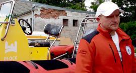 Płocki WOPR stracił jednostki pływające, połamane drzewa, zerwany dach