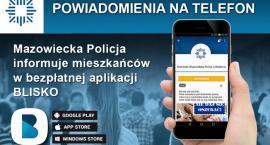 Policja poinformuje przez aplikację