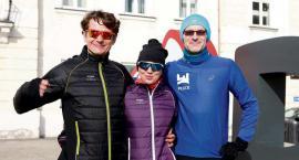 W maratonie po jeziorze Bajkał