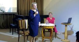 Anna Seniuk promuje nową książkę