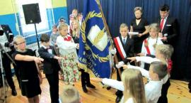 Uroczystość w Szkole Podstawowej w Cieślach