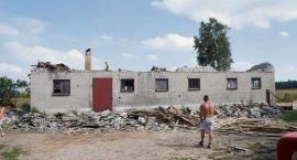 Skutki nawałnic na Mazowszu Płockim