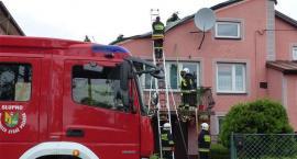 Strażacy usuwają skutki porannych burz