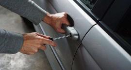 Kradzież agregatu i próba włamania do samochodu