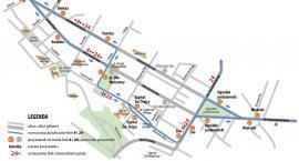 Od jutra linie 4 i 24 na nowych trasach