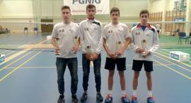 Grad medali płockich badmintonistów