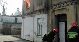 Pożar mieszkania przy ul. Kazimierza Wielkiego