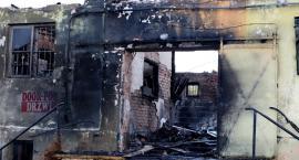 Nocny pożar hurtowni przy ul. Gwardii Ludowej