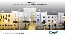 Debata przedwyborcza - kandydaci na Prezydenta Miasta Płocka [NA ŻYWO]