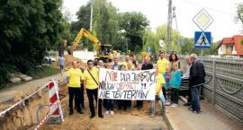 Protest w Słupnie