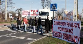Blokada na ul. Granicznej