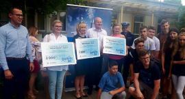 Nagrodzili młodych cyklistów