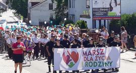 Rodzinny marsz w Sierpcu