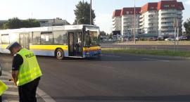 Kolizja autobusu KM na Podolszycach