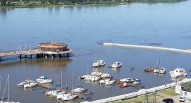 W Płocku wciąż obowiązuje alarm przeciwpowodziowy