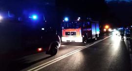 Wypadek w Bielsku. Droga zablokowana