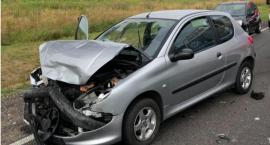 Wypadek w Wyszogrodzie. 4 osoby poszkodowane