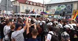 I Płocki Marsz Równości i Manifestacja Młodzieży Wszechpolskiej [ZDJĘCIA, VIDEO]