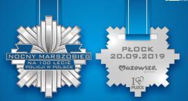 Nocny Marszobieg z okazji 100-lecia polskiej policji. Tak wygląda pamiątkowy medal.