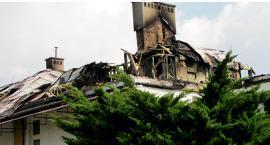 Starostwo odbuduje zniszczony budynek