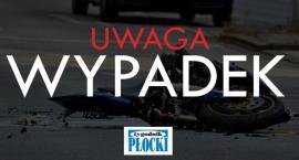 Wypadek w Bodzanowie. Poszkodowany 18-latek