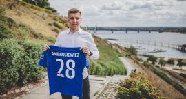 Maciej Ambrosiewicz piłkarzem Wisły Płock