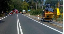 Wypadek w Grabinie